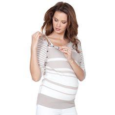 Nessa Bamboo Maternity And Nursing Lightweight Sweater by Seraphine ($96) via Polyvore