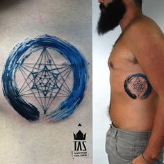 Image result for flower of life tattoo forearm