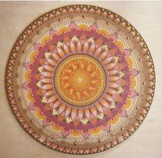 Sunmandalas with Flower of life symbol / Napmandala Élet virága szimbólummal 70cm  Sunmandalas by Je- 2017 ( C) http://sunmandalas.webnode.hu/