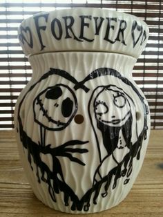 Rare Scentsy Bar Warmer-Nightmare B4 Christmas-JACK SKELLINGTON/SALLY-Valentine!   I WANT ONE!!!!
