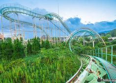 Nara Dreamland, Japan. Built in 1961 as Japan's answer to Disneyland; closed since 2006.