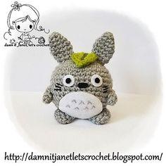 Ravelry: Totoro Round Plush pattern by Janet Carrillo Minion Crochet Patterns, Amigurumi Patterns, Knitting Patterns, Crochet Toys, Free Crochet, Crochet Round, Crochet Animals, Totoro, Plush Pattern