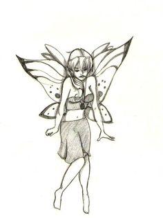 Fairy Dessinée par Lucie.T https://lestestsdelapetiteluciole.wordpress.com/