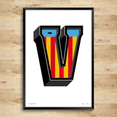Valencia by Mónika Gifló on Etsy featuring #Valencia poster from SignYourNames!  #etsytreasury #poster