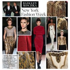 """NYFW Review: Badgley Mischka"" by polyvore-editorial on Polyvore"