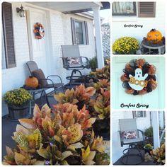 My October Porch – Comfort Spring