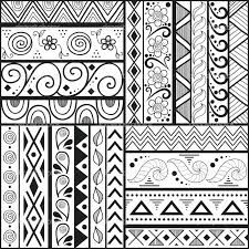 Beginner Step By Step Zentangle For Kids Google Search Pattern