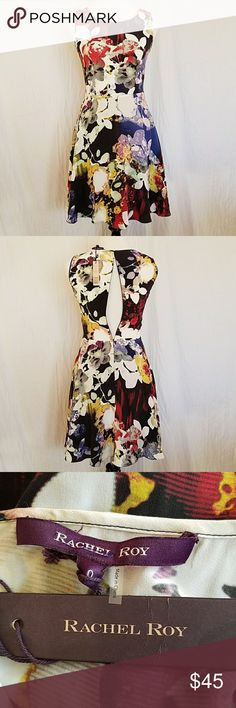 💥 Host Pick! NWT Rachel Roy silk dress NWT silk dress with back zipper (in the pic the mannequin is to large to fully zip), lining in the skirt Rachel Roy Dresses Midi