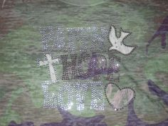 Burnout Subliminal Camo Large  Shirt  that says by cthorses66, $10.00