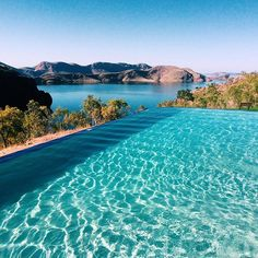 New travel goal: swim in ALL of the infinity pools! It'll be difficult to top the one at Lake Argyle's caravan park where I camped and woke up early to swim every morning  by frugalfrolicker