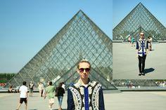 Le look louvre (by Marco Feilbach Collazo) http://lookbook.nu/look/4670373-Le-look-louvre