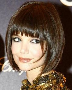 Loved Katie Holmes with this cut.