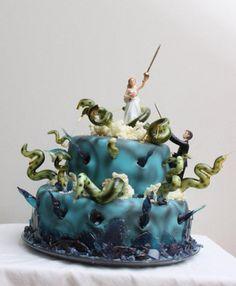 Cthulhu wedding cake...very nice!