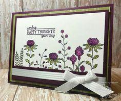 Flowering Fields, purple flowers