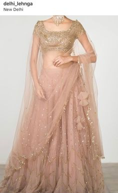 16 Ideas For Indian Bridal Wear Engagement Beautiful Indian Gowns Dresses, Indian Fashion Dresses, Dress Indian Style, Indian Designer Outfits, Indian Gown Design, Lehenga Choli Designs, Best Lehenga Designs, Net Saree Designs, Lengha Design
