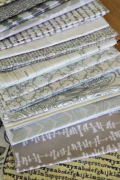 Low volume quilt fabric
