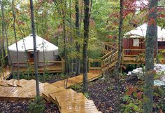 Learn more about how yurts are used for business use, including campground rentals & resorts.