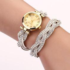 c&d diamonade Koreaanse kasjmier horloge (wit) – EUR € 4.12