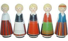 """Meened OÜ: """"Seinanuku näol on tegemist ühe vanima Eestimaise suveniiriga."""" (wall-decoration dolls are among the oldest Estonian souvenirs)"""