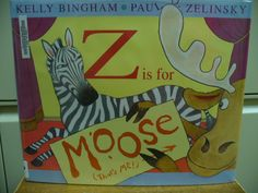 Z is for Moose! Are you sure???