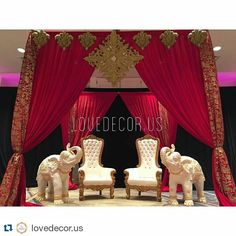 Did you love this red mandap at our wedding expo by @lovedecor.us as much as we did? #repost Burlington Marriott's booth we did decor for at @shaadibazaar bridal show!!!! :) #shaadi #pakistanibride #indianbridal #weddingday #wedding #bride #boston #bridal #colors #connecticut #decor #indianbridal #indianwedding #indianweddingdecor #love #mandap #mehndi #married #marriage #massachusetts #rhodeisland #sangeet #vegas_nay