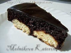 Вкусная правда жизни: Шоколадный кекс с творожно-кокосовыми шариками