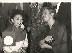 All The Nobody People • nightspell: David Bowie and Viv Lynn at the...