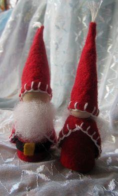Santa Claus and Mrs.Claus Gnomes