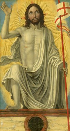 Sing praise to the LORD for he has done glorious things; let this be known throughout all the earth. (Isaiah 12:5) // Christ Risen from the Tomb / Cristo Resucitado // c. 1490 // Bergognone // © National Gallery of Art // #Jesus #Easter #Pascua #Resurrection