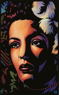 Jazz Posters Billie Holiday | Billie Holiday Framed Art Print by Joe Heffron | Society6