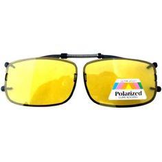 Eyekepper Easyclip Spring Yellow Polarized Clip On Sunglasses Yellow Eyekepper. $10.99 Clip On Sunglasses, Polarized Sunglasses, Sunglasses Accessories, Mirrored Sunglasses, Women Accessories, Mellow Yellow, Ray Bans, Spring, Womens Fashion