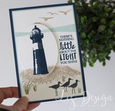 Stampin Up High Tide Card Stampin with Liz Design #GDP080