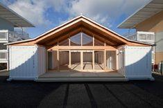 CASAS CONTENEDORES: Refugios temporales en Japón hechos con containers