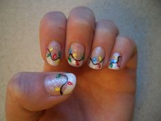 Christmas Nail Art Designs by Mudgey