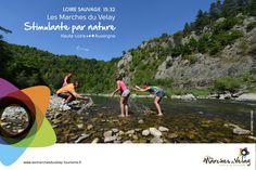 crédits photos : JC Parayre / OTIMV  Les pieds dans l'eau Loire sauvage à Chazelles Monistrol-sur-Loire.
