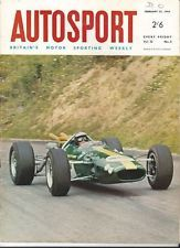 Autosport February 25th 1966 *Tasman Jim Clark & Lotus Win &…