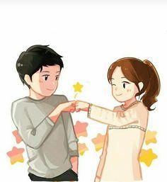 Cute Couple Drawings, Cute Couple Art, Cute Kawaii Drawings, Anime Couples Drawings, Hipster Drawings, Easy Drawings, Pencil Drawings, Love Cartoon Couple, Anime Love Couple