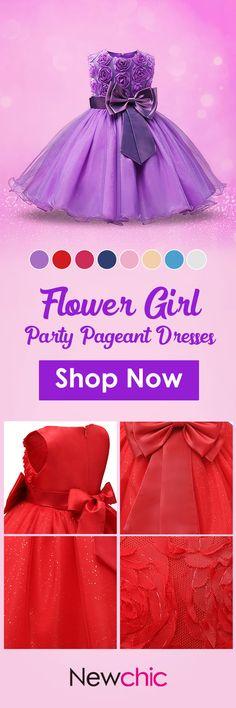 US$27.95 Flower Girl Dresses Party Pageant Communion Dress Little Girls Kids/Children Dress for Wedding#weddings #dress #kids #party