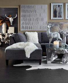 The Best of 2015: Exclusive to Z Gallerie and one of our top 5 sectionals · Condo decoratingStylish home decorGame RoomFAMILY ROOMSLiving ... & 41 best LUXE LIVING ROOMS images on Pinterest | Living Room Living ...