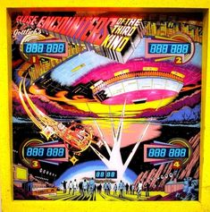 I WAS A TEENAGE PINBALL WIZARD  Visions Of Ultra Cool Vintage Pinball Machines  Close Encounters Of The Third Kind  Circa 1978