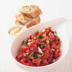 Bacon and Tomato Salad   Chef Laurent Tourondel shares this idea for a delicious bacon and tomato salad.