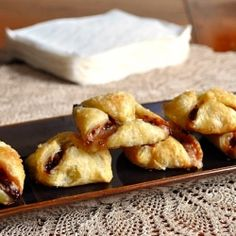 Brie & Jam Bites - perfect appetizer, snack or dessert!