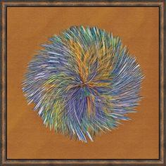 Synergy Framed Painting Print