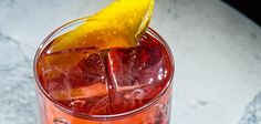 The Negroni is pretty much a perfect drink--but there are times when you could do with one less alcoholic ingredient. Skip the gin, top with fizzy water and you've got this classic.