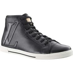 Louis Vuitton Punchy Sneaker Boot In Grained Calf Leather Ypfu2Pgc_B Buf...