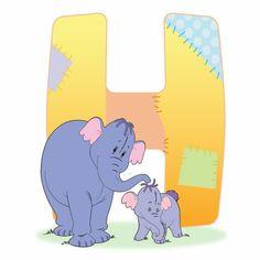 Disney Alphabet - H for Heffalump | Disney Alphabet Printables | Printables | Disney Family.com