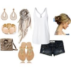 Casual Neutrals- perfect outfit for summer