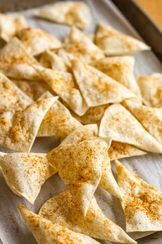 Homemade Tortilla Chips -- how to make homemade baked tortilla chips that rival those you get at your favorite Mexican restaurant! Don't be surprised if your family turns their noses up at bagged chips after having these... #TortillaLandHoliday #recipe (ad) | unsophisticook.com