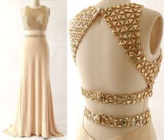 Pd603235 Charming Prom Dress,2 Pieces Prom Dress,Beading Prom Dress,Satin Prom Dress,Mermaid Evening Dress