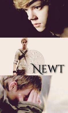 Newt Maze Runner -Thomas Sangster designed by me :3 << wtf this is perfection omg